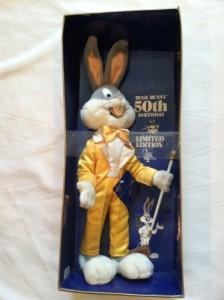 Warner Bros. Bugs Bunny 50Th Birthday Limited Edition Plush Doll