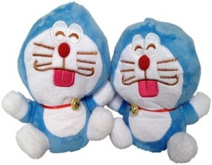 Chinmayi Small Combo Doraemon Soft Toy  - 20 cm