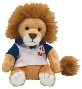 Ty Beanie Babies My Dad Fathers Day Lion