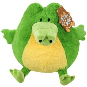 Jay at Play Mushable Pot Bellies Green Crocodile Plush  - 25 inch