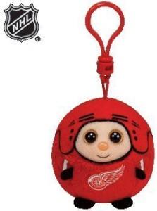 Ty Nhl Beanie Ballz Detroit Red Wings Clip