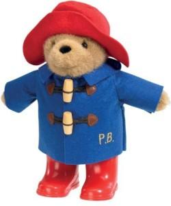 Paddington Bear Classic Bear Free Standing With Wellies (22Cm)
