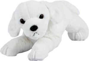 ToynJoy Cute Lying White Puppy Stuffed Toy – 35cm  - 35 cm