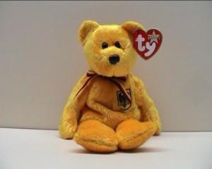 Ty Beanie Ba Prinz Von Gold The Bear (Germany Exclusive)