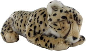 Hamleys Charlie Cheetah Soft Toy  - 5.9 inch