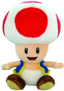 Nintendo Official Super Mario Toad Plush6