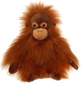 Fiesta Toys Brown Orangutan Plush Animal 10 Inches