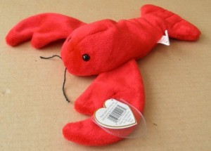 c82faac3b7d Smartbuy Ty Beanie Babies Pinchers The Lobster Animal Plush 9 Red ...