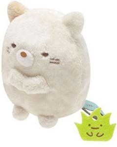 San-x Sumikko Gurashi Plush 2'' Cat W/ Mini Weed