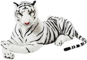 S S Mart White Tiger soft Toy  - 40 cm
