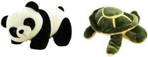 Pari Soft Panda And Tortoise  - 26 cm