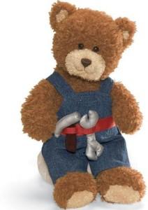 Gund Career And Lifestyle Bear Handyman