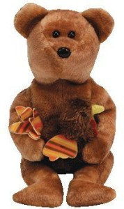 Ty Beanie Babies Pilgrim The Bear (Internet Exclusive)