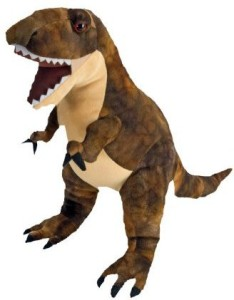 b6f3114dbbb Wild Republic Dinosauria Large Trex 19 Plush Brown Best Price in ...