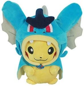 Generic Pikachu with Gyarados Cape Cosplay Magikarp Pokemon Plush Toy Stuffed Animal 8