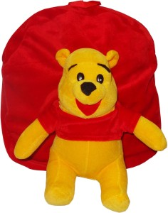 Vpra Mart Red & Yellow Soft School Bag