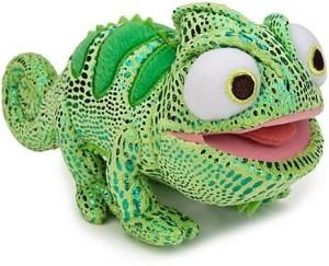 Pascal Disney Tangled The Chameleon Mini Bean Bag Plush Green