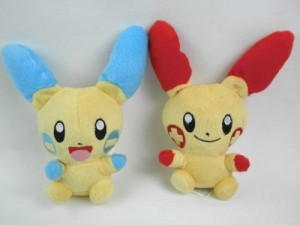 BabyBlue Shop Pikachu Plusle & Minun Pokemon 55