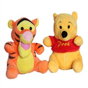 Cuddles Pooh And Tiger Combo  - 20 cm