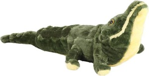 SS Mart Green Crocodile Soft Toys  - 80 cm