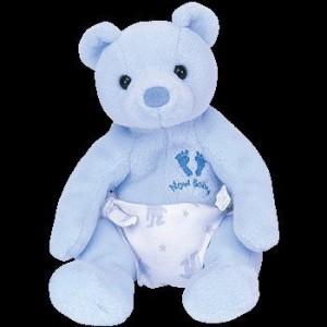 Ty Beanie Ba It'S A Boy The Bear