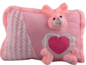 Joy Mart Stuffed Soft Toy Rabbit Pillow  - 26 cm