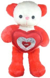 Tickles Cute Teddy With Lovely Heart  - 51 cm