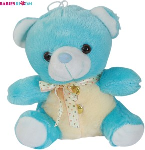 Babies Bloom Candy Plush Green Stuffed Toy With A Bow  - 20 cm
