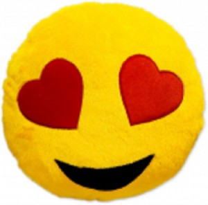 Yash Enterprises Smiley Cushion no.7  - 13 inch