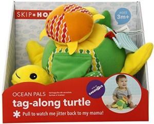 Skip Hop Ocean Pals Tagalong Turtle