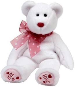 TY Beanie Babies Heartford Valentine'S Bear