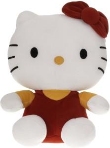 Sana Sana Hello Soft Teddy Red/yellow cm 30  - 30 cm