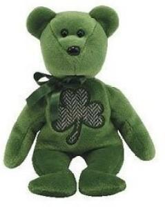 TY Beanie Babies 20 Luckier St Patrick'S Day Bear