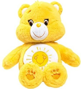 Just Play Care Bears Funshine Medium Plush With Dvd