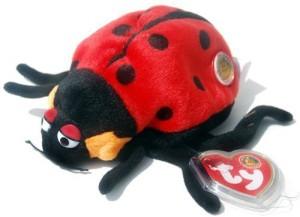 TY Beanie Babies Countess The Ladybug (Bbom June 2004)