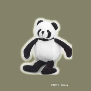 PurrFection Purrfection Beijing Bouncy Buddy Panda Bear Plush