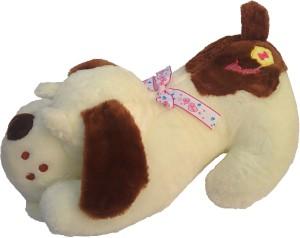 Galaxy World Pretty Sleeping Dog Animal Plush Pillow  - 18