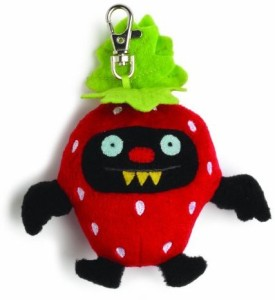 Gund Uglydoll Fruities Ninja Batty Strawberry
