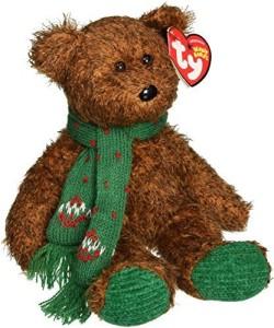 Ty Beanie Ba Season'S Greetings The Bear (Hallmark Gold Crown