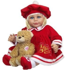 Molly P. Originals Merry Doll With Daisy Bear18