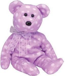 Ty Beanie Ba Toast The Bear