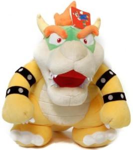 Nintendo Official Super Mario Bowser Plush13