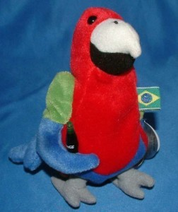 Coca-Cola Barrot The Parrot From Brazil Collectible