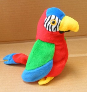 9fb997b56a4 Smartbuy Ty Beanie Babies Jabber The Parrot Animal Plush 6 Inches ...