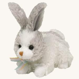 TY Beanie Babies Basket Beanies Hobsy Bunny