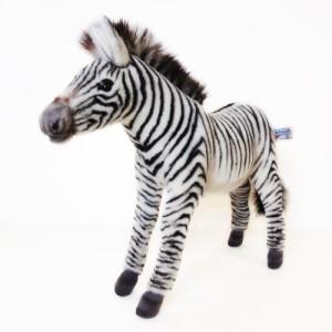 Hansa Grevy'S Zebra Plush Animal 14