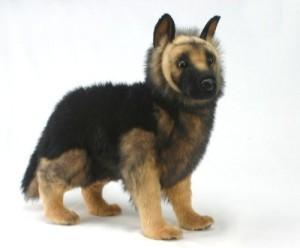 Hansa German Shepherd Puppy Plush 20