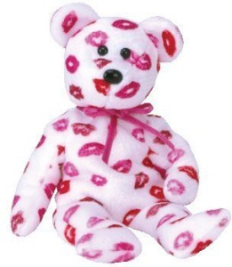 Ty Beanie Babies Kissy Bear