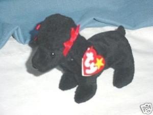 Ty Beanie Ba Gigi The Poodle Dog
