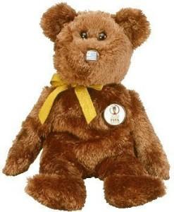 Ty Beanie Ba Champion The Fifa Bear ( Uruguay )